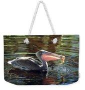 Brown Pelican Afloat Weekender Tote Bag