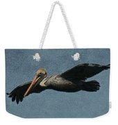 Brown Pelican Painterly Weekender Tote Bag