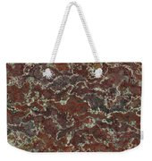 Brown Stone Abstract Weekender Tote Bag