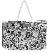 Bruegel: Ice Skaters Weekender Tote Bag