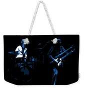 Bruford And Rutherford Blue Weekender Tote Bag