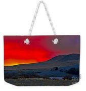 Bruneau Sunrise Weekender Tote Bag