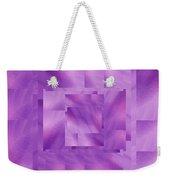 Brushed Purple Violet 10 Weekender Tote Bag