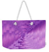 Brushed Purple Violet 9 Weekender Tote Bag