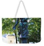 Brussels Royal Garden Fountain Weekender Tote Bag