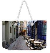 Brussels Side Street Cafe Weekender Tote Bag