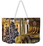 Bryant Park Fountain Holiday Weekender Tote Bag