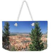 Bryce Canyon Panoramic Weekender Tote Bag