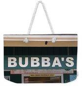 Bubba Burgers Weekender Tote Bag