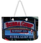 Bubba Gump Weekender Tote Bag
