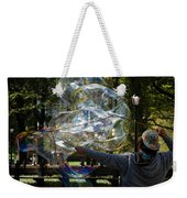 Bubble Blowr Of Central Park Weekender Tote Bag