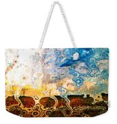 Bubble Landscape Abstract Weekender Tote Bag