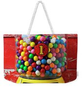 Bubblegum Machine And Gum Weekender Tote Bag