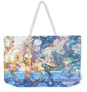 Bubbles Abstract Weekender Tote Bag