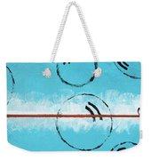 Bubbles Of Energy On A Blue Horizon Weekender Tote Bag