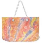 Bubbles Original Abstract Watercolor Weekender Tote Bag