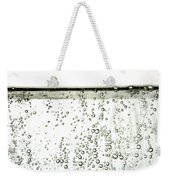 Bubbles Weekender Tote Bag by Photo Researchers, Inc.
