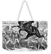 Bucking Mule, 1879 Weekender Tote Bag