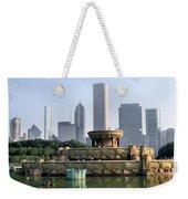 Buckingham Fountain - 1 Weekender Tote Bag