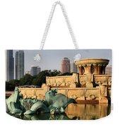 Buckingham Fountain - 3 Weekender Tote Bag