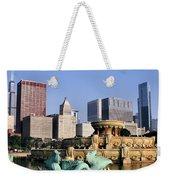 Buckingham Fountain - 4 Weekender Tote Bag
