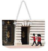 Buckingham Palace Guards Weekender Tote Bag