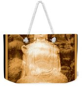 Buddha And Ancient Tree With Border Weekender Tote Bag