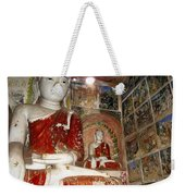 Buddha Image In Po Win Taung Caves. Weekender Tote Bag