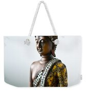 Buddha Statue With A Golden Robe Weekender Tote Bag