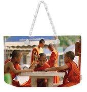 Buddhist Childhood Weekender Tote Bag