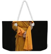 Buddhist Monk 1 Weekender Tote Bag by Bob Christopher
