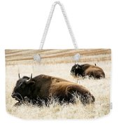 Buff And Friend 2 Weekender Tote Bag
