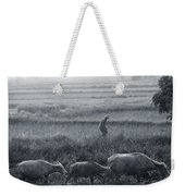 Buffalo And Monsoon Rain Weekender Tote Bag by Anonymous
