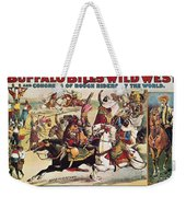 Buffalo Bill: Poster, 1899 Weekender Tote Bag