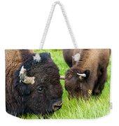 Buffalo Eyes Weekender Tote Bag