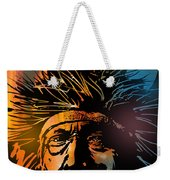 Buffalo Headdress Weekender Tote Bag