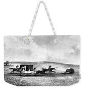 Buffalo Hunt, 1841 Weekender Tote Bag