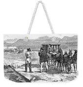 Buffalo Hunting, 1874 Weekender Tote Bag