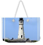 Buffalo Main Lighthouse Weekender Tote Bag