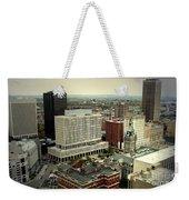 Buffalo New York Aerial View Weekender Tote Bag