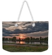 Buffalo Sunset 14390 Weekender Tote Bag