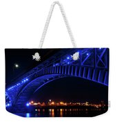 Buffalo Under The Bridge Weekender Tote Bag
