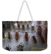 Bug Collector - So What's Bugging You Weekender Tote Bag by Mike Savad