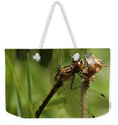 Bug Eyed Dragon Fly Weekender Tote Bag