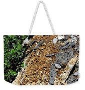 Bug Filled Bear Clawed Log Weekender Tote Bag