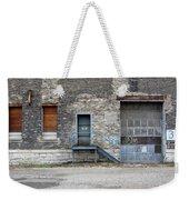 Building No.3 Garage Door Weekender Tote Bag