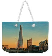 Building Shard Weekender Tote Bag by Jasna Buncic