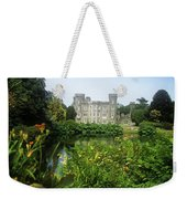 Building Structure In A Garden Weekender Tote Bag
