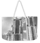 Buildings Downtown Miami Weekender Tote Bag