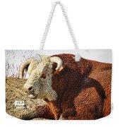 Bull It Is What It Is Weekender Tote Bag
